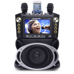DVD/CD+G/MP3+G Karaoke Machine with Bluetooth®