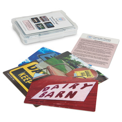 Favorite Things - Sign Reminiscence Photo & Activity Card Set
