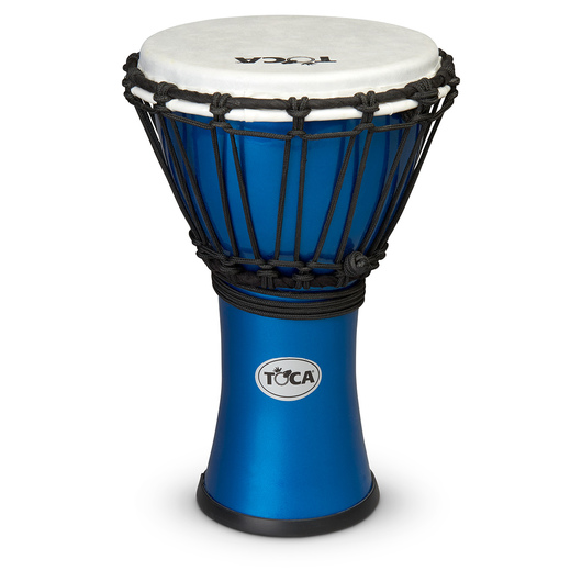 Toca Colorsound Djembe Drums - Metallic Blue