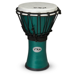 Toca Colorsound Djembe Drums - Metallic Green
