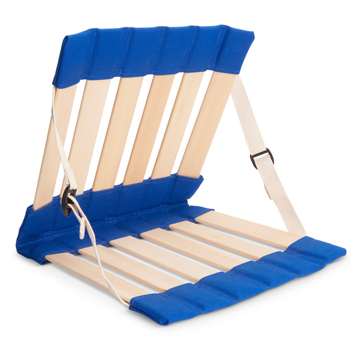 HowdaHUG® Petite Adjustable Seat - Blue, Fits Up to 40 lbs.