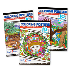 Coloring Poster Pads