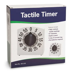 Tactile Low-Vision Timer