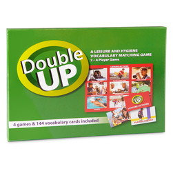 Double Up Vocabulary Matching Game