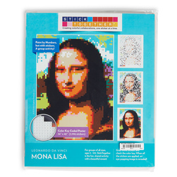 Sticker Mosaic Poster Kits - Mona Lisa