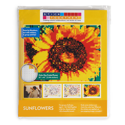 Sticker Mosaic Poster Kits - Sunflowers