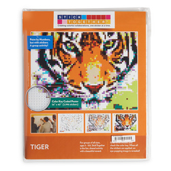 Sticker Mosaic Poster Kits - Tiger