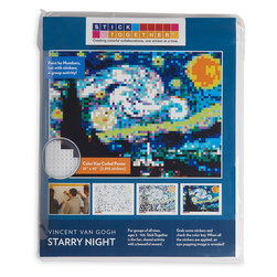 Sticker Mosaic Poster Kits - Starry Night
