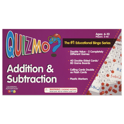 Quizmo Math Games, Addition & Subtraction