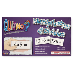 Quizmo Math Games, Multiplication & Division