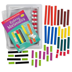 Cuisenaire® Rods Introductory Set, Plastic, 74