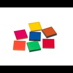 Overhead Color Squares