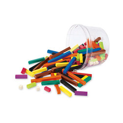 Cuisenaire® Rods, Plastic, Bucket, 144