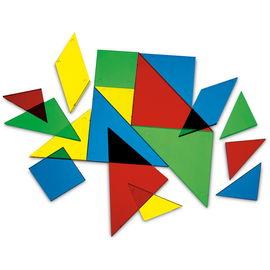 Nasco Transparent Tangrams