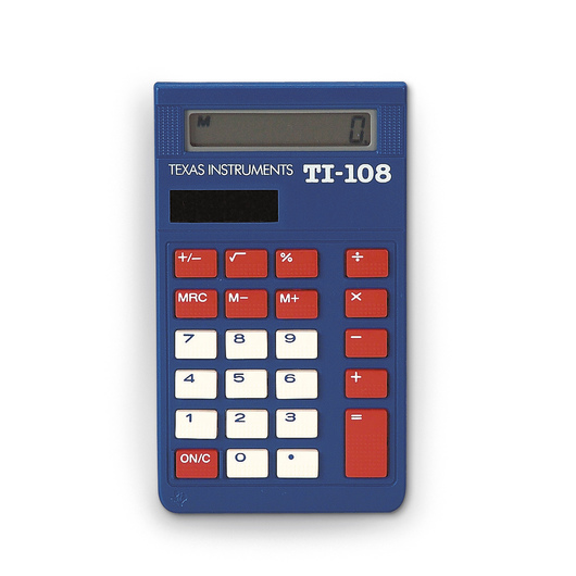 TI-108 Solar Calculator