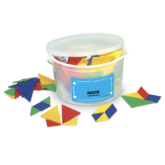 Nasco Plastic Tangram Bucket Set