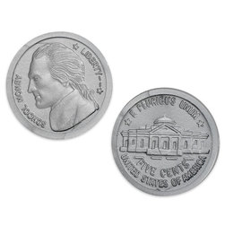 Plastic Coins, Nickels