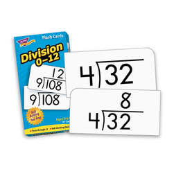 Drill Flash Cards 0-12 Skill, Division