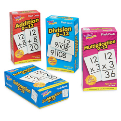Complete Set of Math Skill Drill Flash Cards