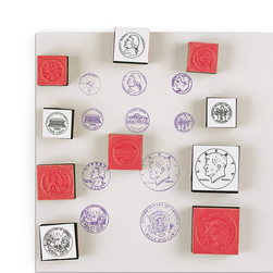 Coin Stamp Set
