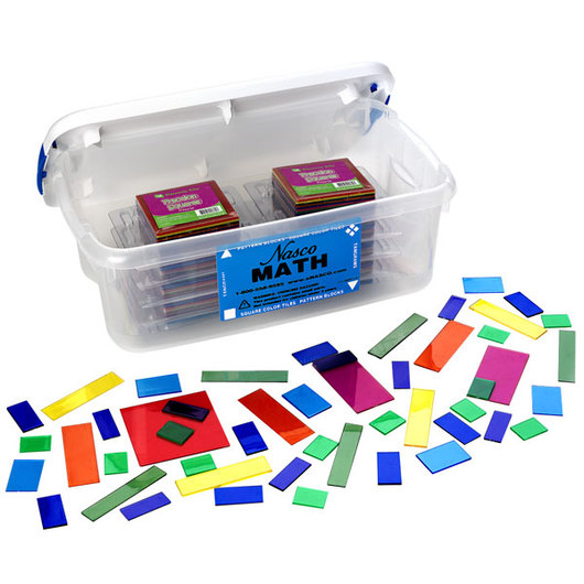 Nasco Fraction Squares Set