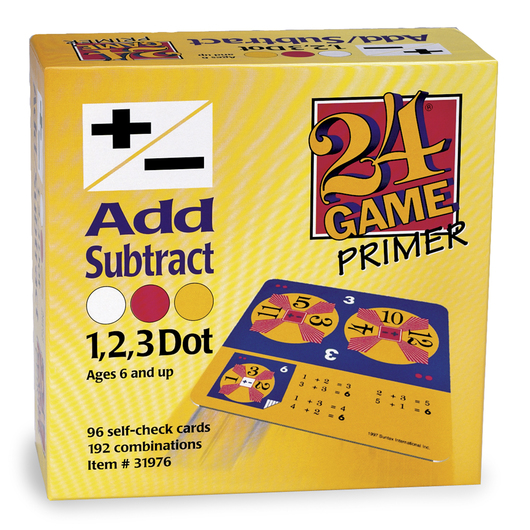 24® Game - Add/Subtract