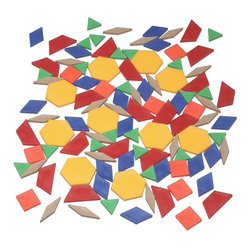 Pattern Block Set, Individual Student, Each Student Pattern Blocks