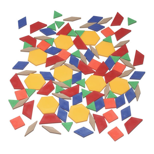 Pattern Blocks - Plastic - 0.5 cm