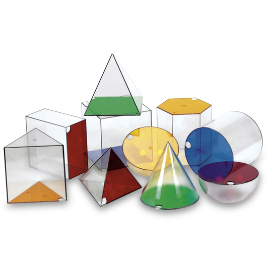 Giant GeoSolids® Volume Shapes