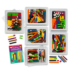 Cuisenaire® Wooden Rods 444