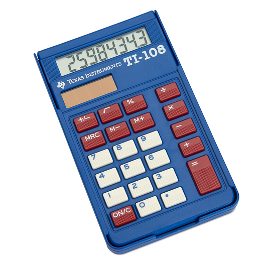 Solar Calculator TI-108 Teacher Kit