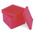 Red Clearview Base 10 Flats - Pkg. of 10