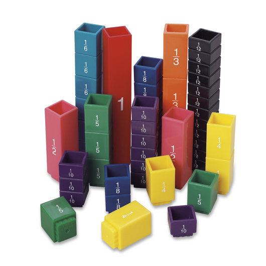 Fraction Tower® Fraction Cubes