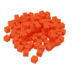 Nasco Fat Cubes Replicas - Pkg. of 100