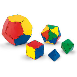 Polydron Geometry Set