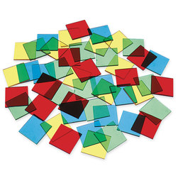 Overhead Color Tiles, 1 in.