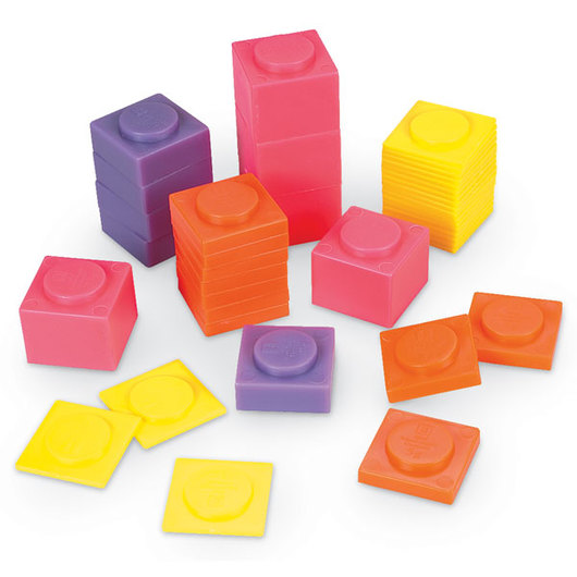 Plastic Stacking Masses - Set of 40