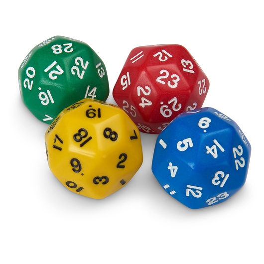 30-Sided Polyhedra Dice