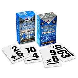 Set of Double Value Flash Cards