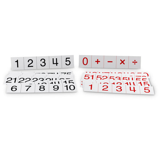 Replacement Numeral and Operation Cards