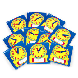 WriteOn/WipeOff Clock, Student Clocks