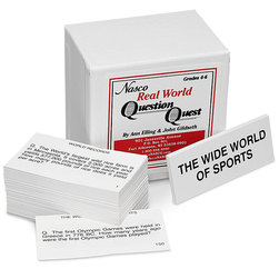 Real World Question Quest Card Set