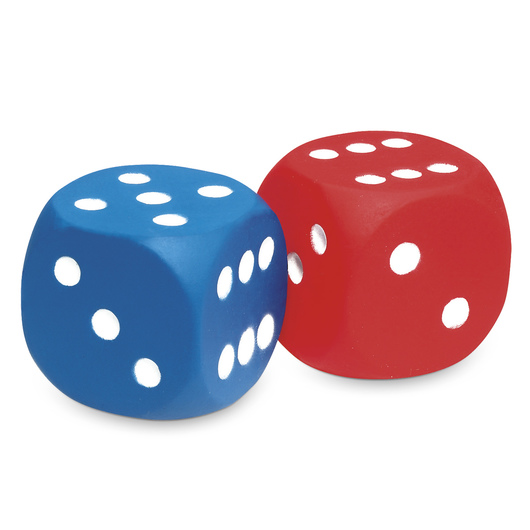 Foam Dot Dice - Set of 2