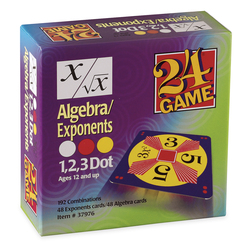 24 Game, Algebra/Exponents