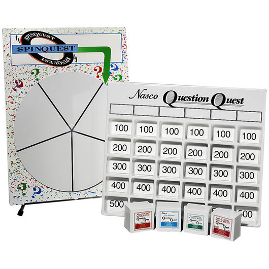 Nasco Middle School Question Quest and SpinQuest Set