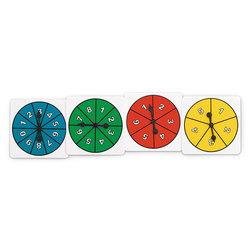 Number Spinners, Set of 20