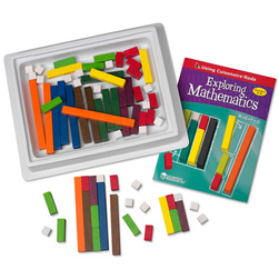 Cuisenaire® Rods Introductory Set, Wood, 74