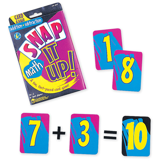 Snap It Up!® Card Game - Addition/Subtraction Facts to 20