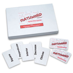 Nasco Mathword Card Game