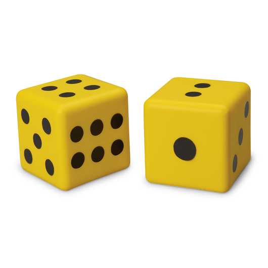 Jumbo Dot Dice - Set of 2